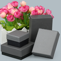 Cardboard Jewelry Set Box, Rectangle, different styles for choice, 10PCs/Lot, Sold By Lot