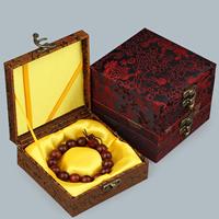Kartonowe pudełko na bransoletkę, Tektura, ze satyna & Stop cynku, Kwadrat, różne wzory do wyboru, 120x120x47mm, 10komputery/wiele, sprzedane przez wiele