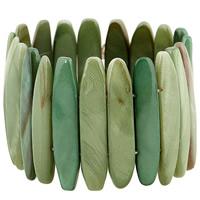 Акриловые браслеты, Акрил, Женский, 38mm, Продан через Приблизительно 6 дюймовый Strand