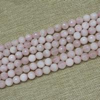 Природные Бисер розовый кварц, Круглая, натуральный, разный размер для выбора, Продан через Приблизительно 15 дюймовый Strand