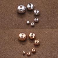 Srebro 925 Koralik, Powlekane, różnej wielkości do wyboru, dostępnych więcej kolorów, bez zawartości niklu, ołowiu i kadmu, sprzedane przez torba
