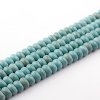 Turquoise Beads, Rondelle, different size for choice, green, Length:Approx 15.5 Inch, Approx 2Strands/Bag, Sold By Bag