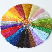 Декоративные кисточкой, Полиэстер, Много цветов для выбора, 125mm, продается PC