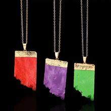 Ожерелье из агата, цинковый сплав, с Агат, плакирован золотом, Женский, Много цветов для выбора, не содержит свинец и кадмий, 480mm, Продан через Приблизительно 18.5 дюймовый Strand