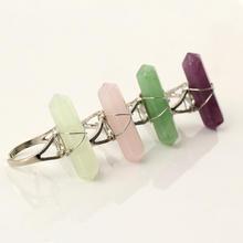 цинковый сплав Манжеты палец кольцо, с канифоль, Платиновое покрытие платиновым цвет, Женский, Много цветов для выбора, не содержит свинец и кадмий, 30mm, размер:6-10, продается PC
