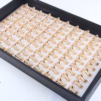 Кубический циркон микро проложить кольцо-латунь, Латунь, Змея, плакированный настоящим золотом, инкрустированное микро кубического циркония & Женский, не содержит свинец и кадмий, 16-18mm, размер:5.5-7, продается PC