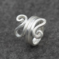 Cеребряное кольцо, Серебро 925 пробы, Женский, 24mm, размер:7, продается PC