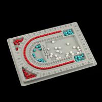 Планшеты для дизайна украшений, пластик, Прямоугольная форма, серый, 325x240x15mm, 20ПК/Лот, продается Лот