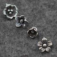 Подвески из настоящего балийского серебра, Таиланд, Flower Bud, разные стили для выбора, отверстие:Приблизительно 2-2.5mm, продается PC