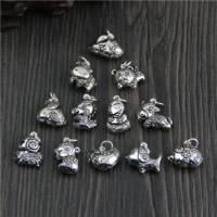 Подвески из настоящего балийского серебра, Таиланд, Животное, разные стили для выбора, отверстие:Приблизительно 2mm, продается PC