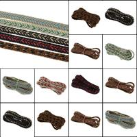 Вощеная Конопля шнура Шнурок, Много цветов для выбора, 10x3mm, 100Дворы/сумка, продается сумка