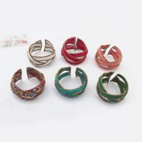 Стеклянный бисер браслет-манжеты, с цинковый сплав, Женский & со стразами, Много цветов для выбора, 40mm, внутренний диаметр:Приблизительно 65mm, продается PC