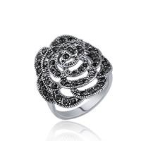 Модные кольца, цинковый сплав, Платиновое покрытие платиновым цвет, различный внутренний диаметр по выбору & Женский & со стразами, не содержит свинец и кадмий, 20x23mm, продается PC