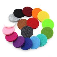 Хлопок кабошон, Плоская круглая форма, плоской задней панелью, Много цветов для выбора, 22mm, 100ПК/сумка, продается сумка