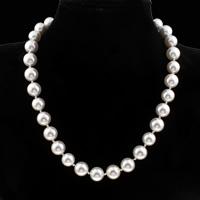Ожерелье из ракушки Южного моря, южноморская ракушка, Круглая, разный размер для выбора & Женский, Продан через Приблизительно 18 дюймовый Strand