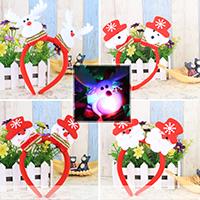Нетканые ткани с пластик, Рождественские украшения & разные стили для выбора & LED, 250mm, продается PC