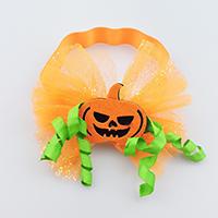 ткань Пот-всосанная Повязка, с Кружево & гросгрейнская лента, для детей & Хэллоуин ювелирные изделия, 195x150mm, 5ПК/Лот, продается Лот