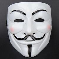 Fashion Party Mask, пластик, Хэллоуин ювелирные изделия, белый, 195x180mm, продается PC