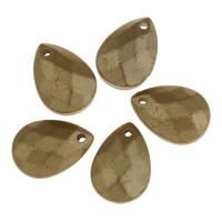 акриловые кулоны, Акрил, Каплевидная форма, 12.50x17.50x0.60mm, отверстие:Приблизительно 1.5mm, Приблизительно 660ПК/сумка, продается сумка