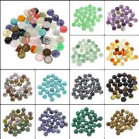 Кольё из камней, Полудрагоценный камень, Плоская круглая форма, различные материалы для выбора, 10x4.5mm, 100ПК/сумка, продается сумка