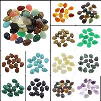 Кольё из камней, Полудрагоценный камень, Каплевидная форма, различные материалы для выбора, 13x18x6mm, 100ПК/сумка, продается сумка