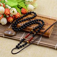 Шнуры для ожерелий, с тигровый глаз & Агат, 6mm, длина:Приблизительно 23.6 дюймовый, 10пряди/Лот, продается Лот