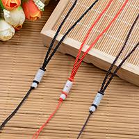 Шнуры для ожерелий, с Жадеит, плетеный, Много цветов для выбора, 8x16mm, длина:Приблизительно 23.6 дюймовый, 10пряди/Лот, продается Лот