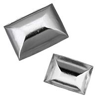 сеттинг для кабошона из нержавеющей, нержавеющая сталь, разный размер для выбора & плоской задней панелью, оригинальный цвет, 500ПК/Лот, продается Лот