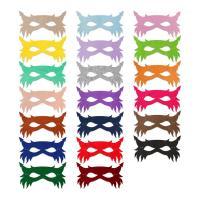 Fashion Party Mask, Войлок, с Сатиновая лента, Мужская, Много цветов для выбора, 264x148mm, продается PC