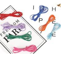 Шнуры для ожерелий, Вощеный шнур нейлона, Много цветов для выбора, 1mm, длина:Приблизительно 1 м, 100пряди/Лот, продается Лот