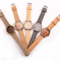 Часы унисекс, Искусственная кожа, с цинковый сплав, Другое покрытие, Мужская, Много цветов для выбора, 40mm, длина:Приблизительно 0.9-9.4 дюймовый, продается PC