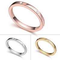 Кольца из латуни, Латунь, Другое покрытие, Женский, Много цветов для выбора, не содержит никель, свинец, 18mm, размер:7.5, продается PC