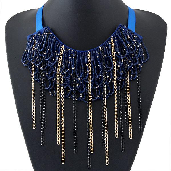 Αλυσίδα υφασμένα κολιέ Κίνα χονδρικής κοσμήματα χάντρες Οι γυναίκες ... aa4803309f3